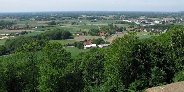 Aussicht von der Burg Ravensberg