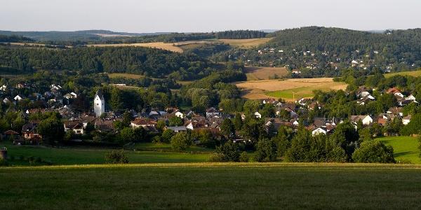 Blick auf Bärstadt