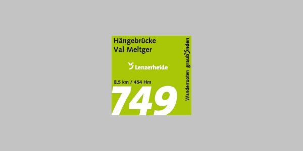 Hängebrücke Val Meltger