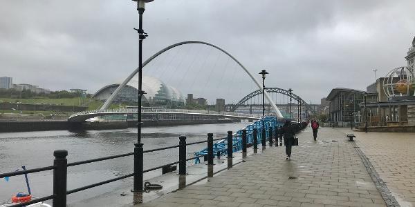 Path Beside the River Tyne