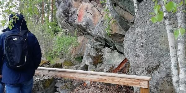Kolmiköytisienvuori rock painting