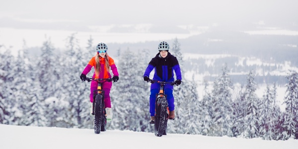 Fatbiking in the winter