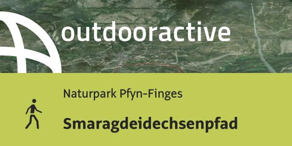 Wanderung im Wallis: Smaragdeidechsenpfad