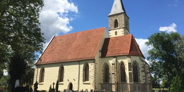 Die Sülchenkirche bei Rottenburg ist Ausgangspunkt.