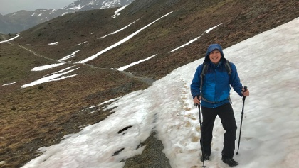 Walk Carefully on Snow Patches