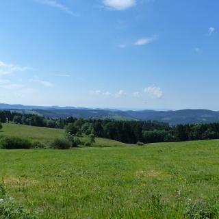 Blick von Norden auf Sankt Andreasberg