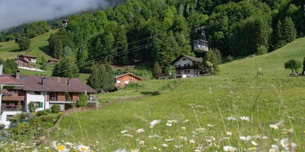 Talstation der Montafoner Kristbergbahn