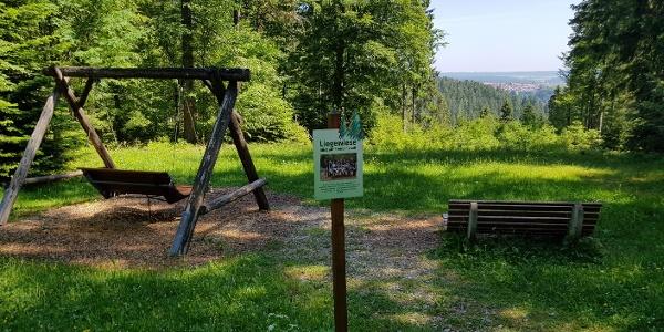 Ausblick und Wellnessliegen bei der Forstmeister-Preu-Hütte