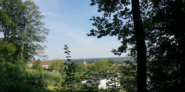 TERRA.track Goethegang und TERRA.track Megalosaurus - Ausblick auf Bad Essen