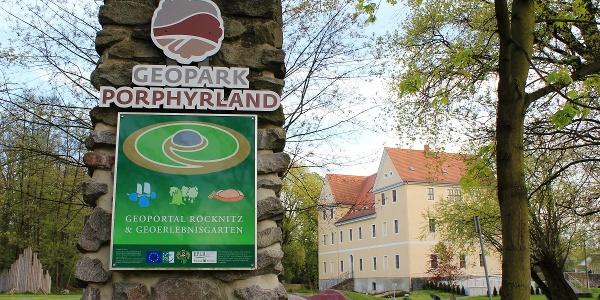 """Geoportal """"Zeit-Wandel-Stein"""" im Herrenhaus Röcknitz"""