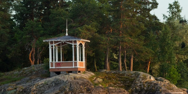 Gazebo in Väinölänniemi Park