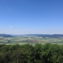 Blick vom Löns-Turm.