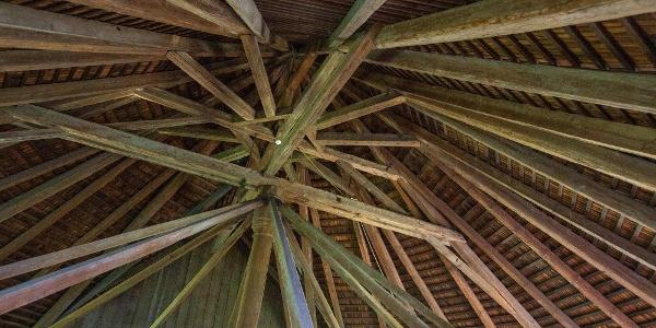 A szarvasi szárazmalom faszerkezete