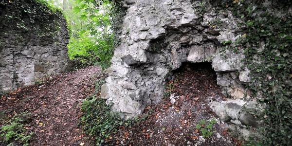 Koblach, Burgruine Neuburg