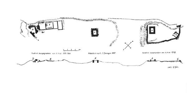 Göfis, Plan Ruine Heidenburg