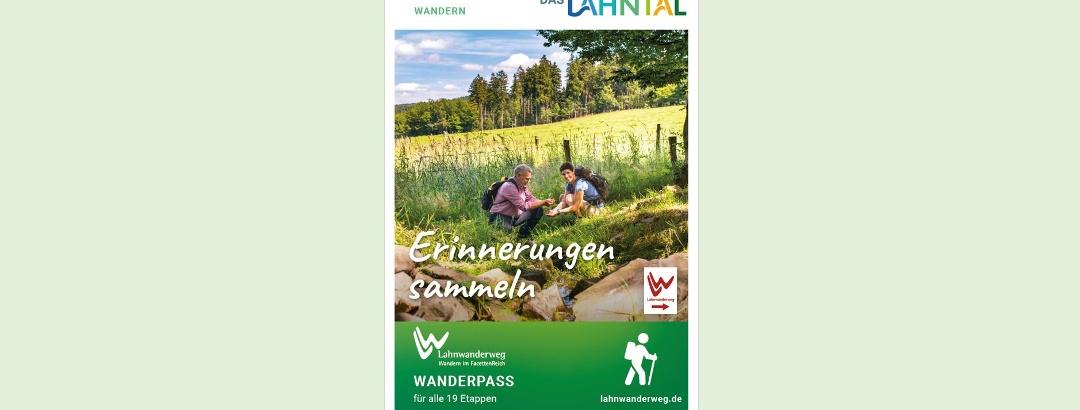 Für Stempelsammler: Der Wanderpass vom Lahnwanderweg