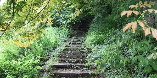 Weg auf den Kalvarienberg
