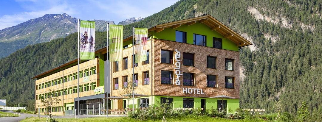 Explorer Hotel Ötztal Sommer
