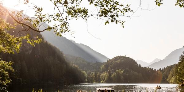 Flooß am Piburger See
