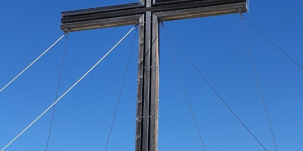 Gipfelkreuz auf der Serles