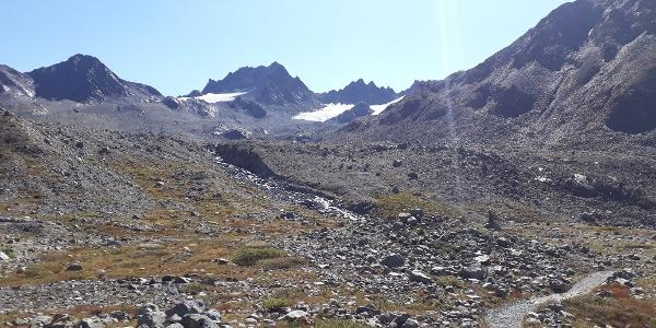 Aufstieg zur Kesch-Hütte