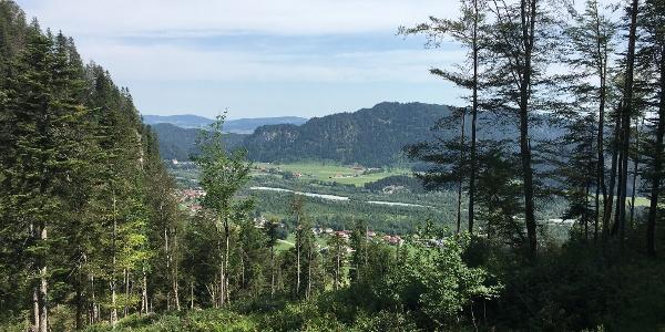 Ausblick auf den Lech