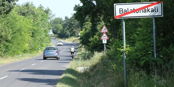Balatonakalitól Mencshelyig tart az emelkedő