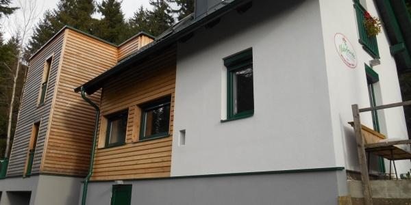 Das neu umgebaute Wimpassinger Schutzhaus