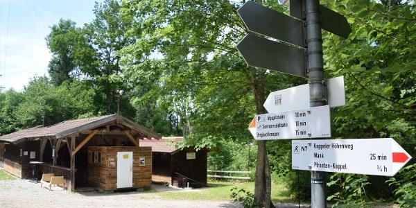 Waldfestplatz der Gemeinde Nesselwang
