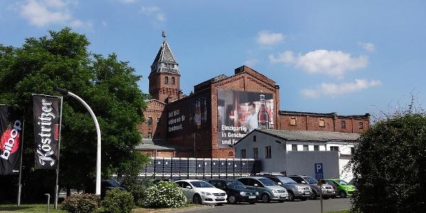 Historisches Brauereigebäude in Bad Köstritz