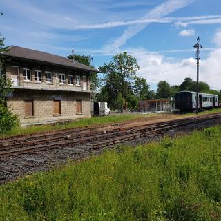Alter Bahnhof in Raeren