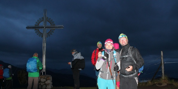 Am Kreuz vom Schatzberg