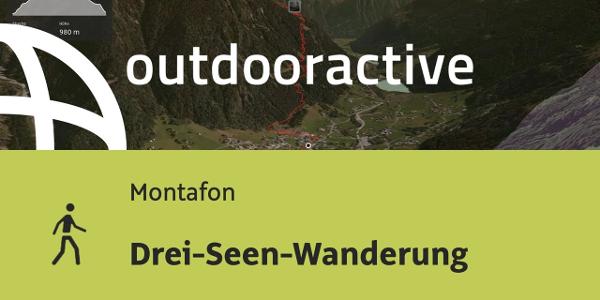 Wanderung im Montafon: Drei-Seen-Wanderung