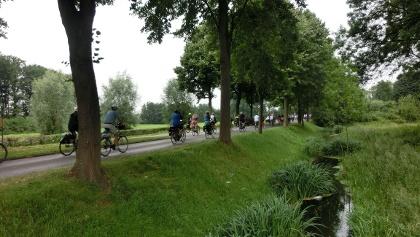 Radfahren in Alpen