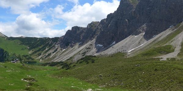 Lachenspitze mit Landsberger Hütte