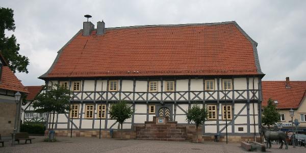 Rathaus am Marktplatz in Zierenburg