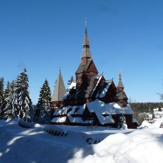 Stabkirche in Hahnenklee Foto: HAHNENKLEE tourismus marketing gmbh