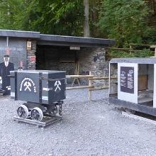 Der Eingang zum Bergwerk