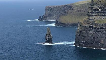 Sunny cliffs