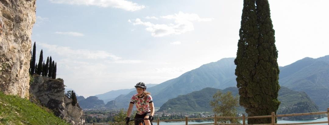 Gravel bike sulla Ponale