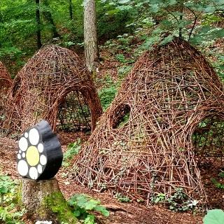 begehbare Bienenkörbe