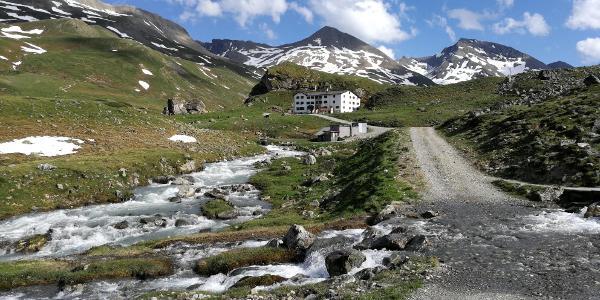 Weg zur Heidelberger Hütte