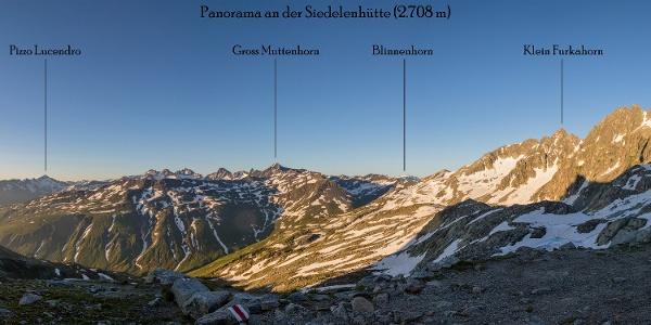 Guten-Morgen-Panorama an der Sidelenhütte