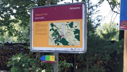 Helsana Trail Starttafel Achenberg