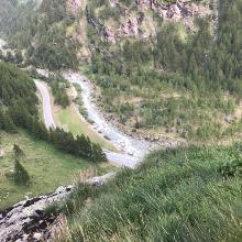 Aussicht vom 2. Ausstieg