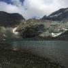 GRAN lAGO unterhalb vom Theodulpass und Matterhorn