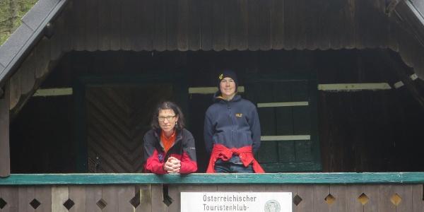 Geborgenheit mitten im Wald bietet das Hauereck-Schutzhaus