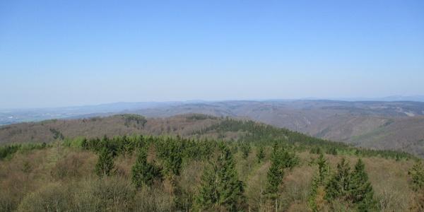 Ausblick vom Poppenberg