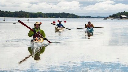Pilgrim paddlers