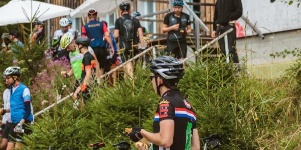 Die Pause mit netten Kontakten macht den Schwarzwald Super! zu dem besonderen Erlebnis